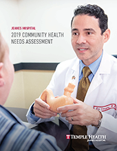 Cover of 2019 Jeanes Hospital Community Health Needs Assessment