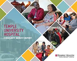 2019 TUH Community Benefit Report Cover
