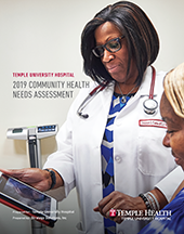 Temple University Hospital Community Health Needs Assessment Cover