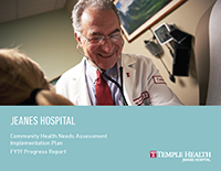 Jeanes Community Health FY19 Progress Report Cover