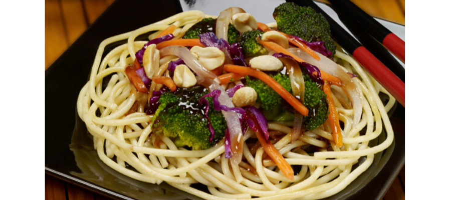Sweet nutty stir-fry