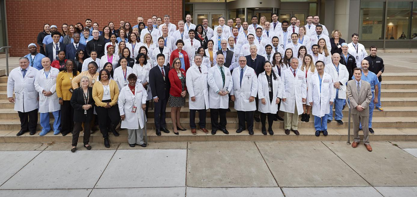 Group shot of Temple Heart and Vascular team