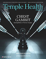 Temple Health Magazine Spring 2020 Cover