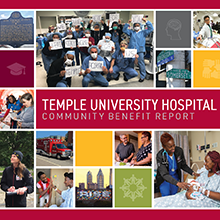 2020 Temple University Hospital Community Benefit Report Cover