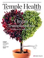 Temple Health Winter Issue 2019 cover