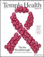 Temple Health Magazine Fall 2015 Cover