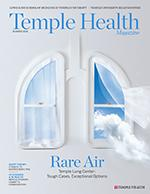 Temple Health Magazine Summer 2018 Cover