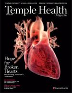 Temple Health Magazine Winter 2013 Cover