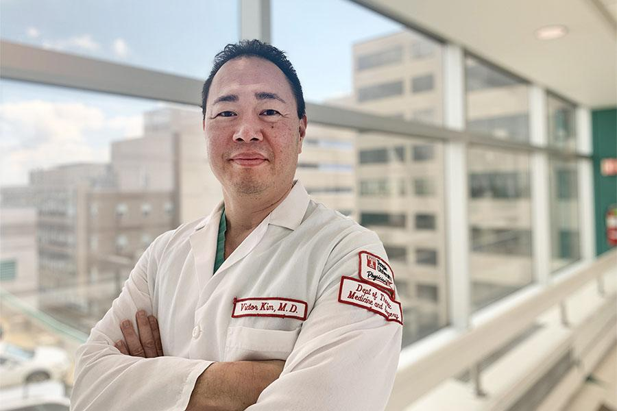 Dr. Victor Kim, pulmonary researcher