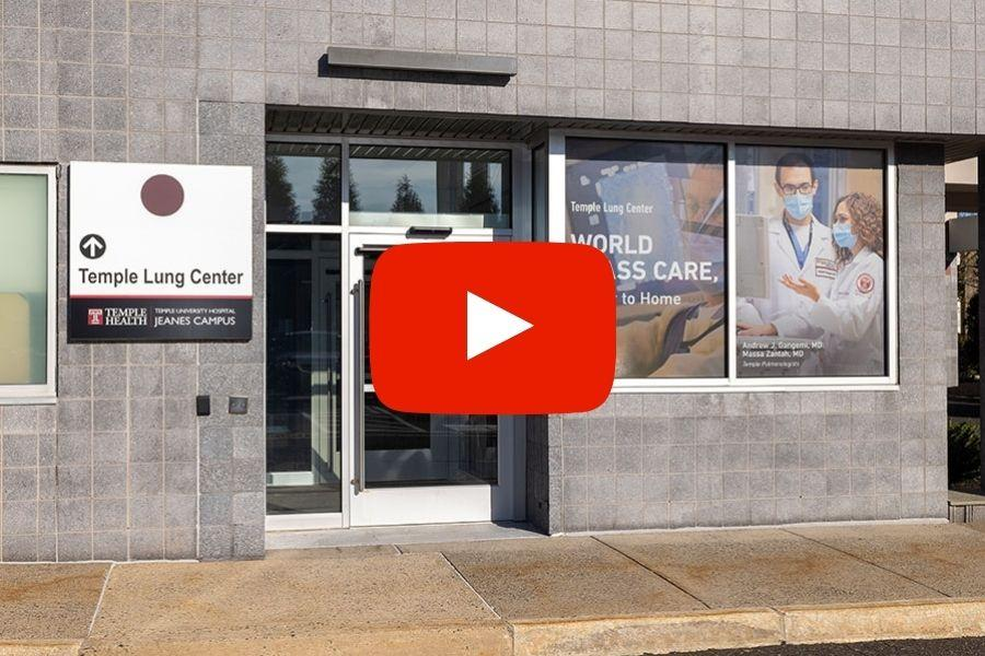 Temple Lung Center at Jeanes Campus virtual tour