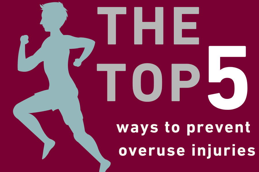 The top 5 ways to prevent overuse injuries