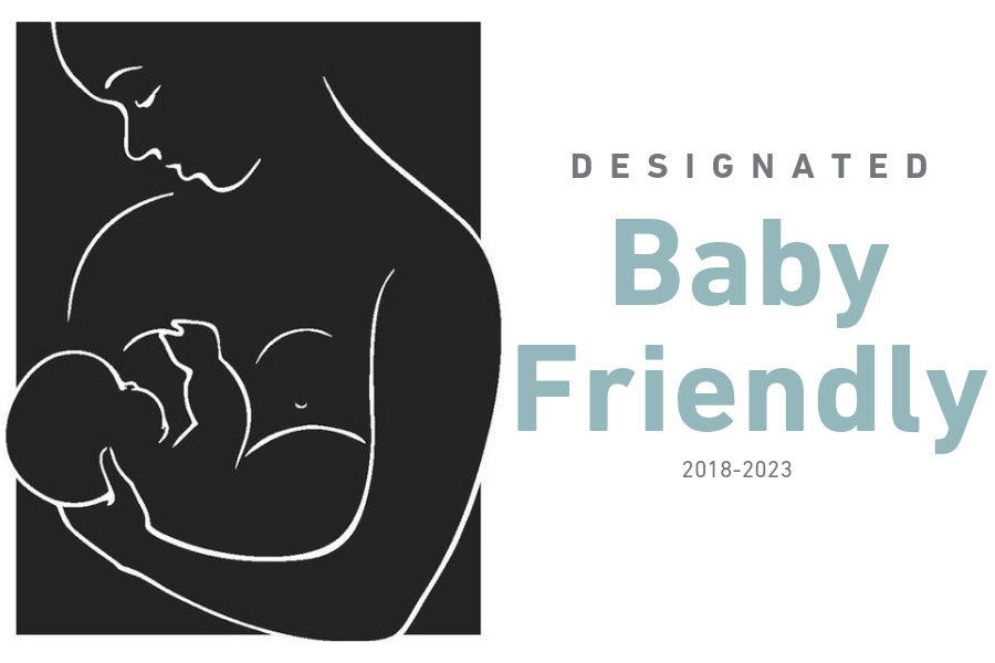 Designated Baby Friendly logo