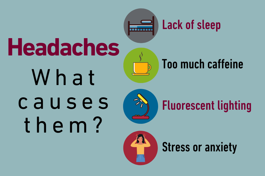 What causes headaches list