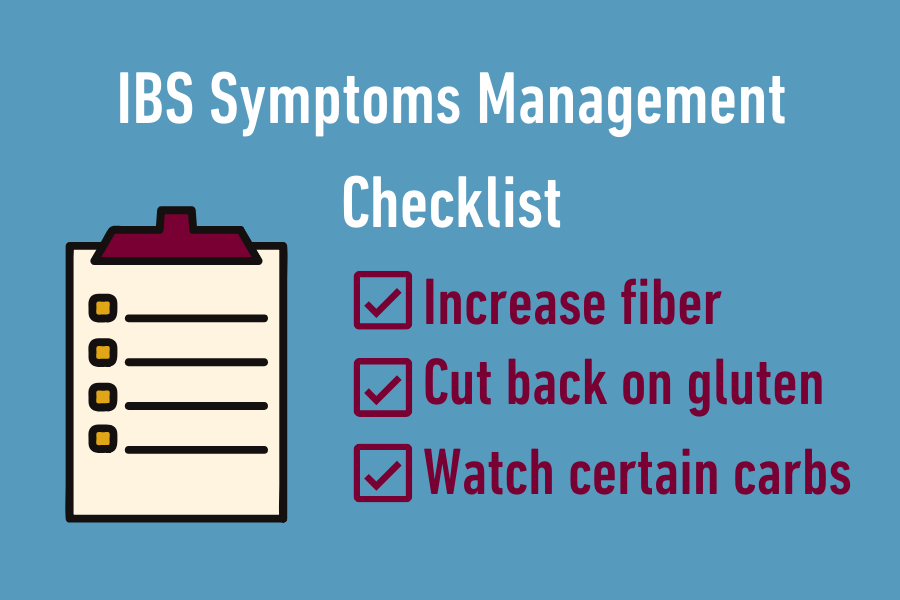 Manage your IBS symptoms - a checklist