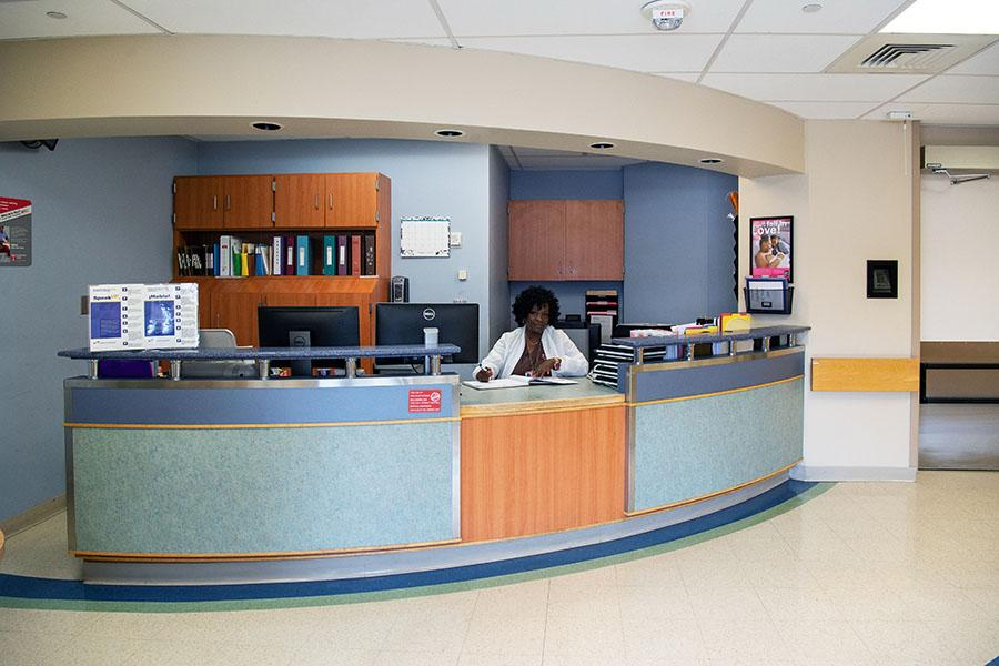 Check-in for Labor and Delivery at Temple University Hospital