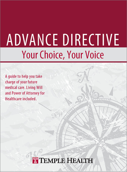 Advance Directive Booklet Cover (English)