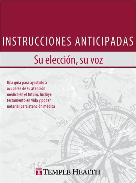 Advance Directive Booklet Cover (Spanish)