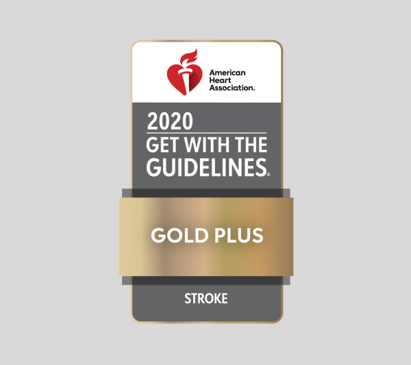 American Heart Association Get with the Guidelines Gold Plus Stroke Award