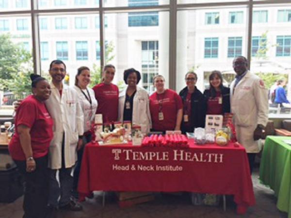 Temple Head & Neck Institute team at National Medical Association Convention