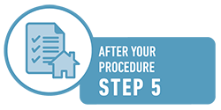 Elective Procedures Step 5: Discharge instructions.